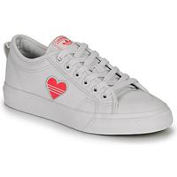 Obuća Žene  Niske tenisice adidas Originals NIZZA TREFOIL W Bijela