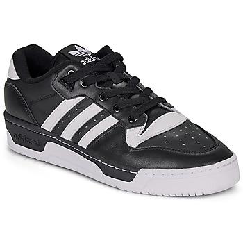 Obuća Muškarci  Niske tenisice adidas Originals RIVALRY LOW Crna / Bijela