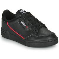 Obuća Djeca Niske tenisice adidas Originals CONTINENTAL 80 C Crna
