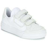 Obuća Djeca Niske tenisice adidas Originals CONTINENTAL VULC CF C Bijela / Bež