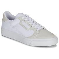 Obuća Djeca Niske tenisice adidas Originals CONTINENTAL VULC J Bijela / Bež