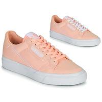 Obuća Djevojčica Niske tenisice adidas Originals CONTINENTAL VULC J Ružičasta