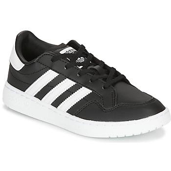 Obuća Djeca Niske tenisice adidas Originals Novice C Crna / Bijela