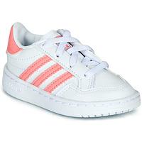 Obuća Djevojčica Niske tenisice adidas Originals NOVICE EL I Bijela / Ružičasta