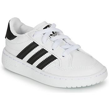 Obuća Djeca Niske tenisice adidas Originals NOVICE EL I Bijela / Crna