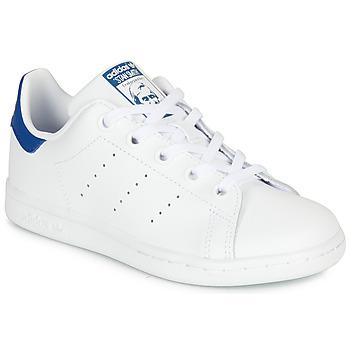 Obuća Djeca Niske tenisice adidas Originals STAN SMITH C Bijela / Blue