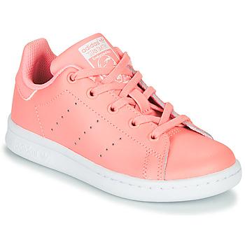 Obuća Djevojčica Niske tenisice adidas Originals STAN SMITH C Ružičasta