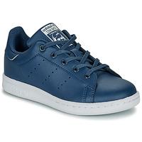 Obuća Dječak  Niske tenisice adidas Originals STAN SMITH C Blue