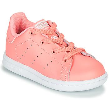 Obuća Djevojčica Niske tenisice adidas Originals STAN SMITH EL I Ružičasta