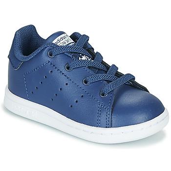 Obuća Dječak  Niske tenisice adidas Originals STAN SMITH EL I Blue