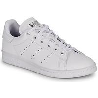 Obuća Djeca Niske tenisice adidas Originals STAN SMITH J Bijela
