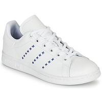 Obuća Djeca Niske tenisice adidas Originals STAN SMITH J Bijela / Blue