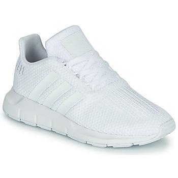 Obuća Dječak  Niske tenisice adidas Originals SWIFT RUN C Bijela