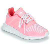 Obuća Djevojčica Niske tenisice adidas Originals SWIFT RUN J Ružičasta