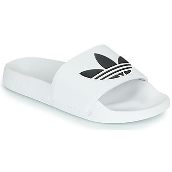 Obuća Sportske natikače adidas Originals ADILETTE LITE Bijela