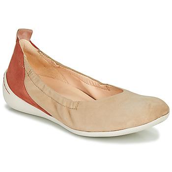 Obuća Žene  Balerinke i Mary Jane cipele Think CUGAL Bež / Red