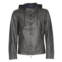Odjeća Muškarci  Kožne i sintetičke jakne Guess VINTAGE ECO-LEATHER JKT Crna