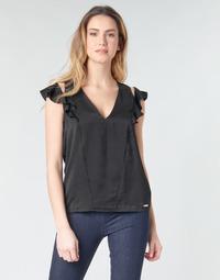 Odjeća Žene  Topovi i bluze Guess SS DAHAB TOP Crna