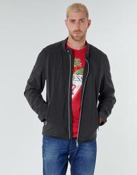 Odjeća Muškarci  Kratke jakne Guess CUMMUTER JACKET Crna