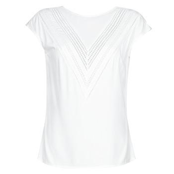 Odjeća Žene  Topovi i bluze Guess SS MALIKA TOP Bijela