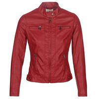 Odjeća Žene  Kožne i sintetičke jakne Moony Mood DUIR Red