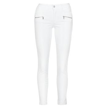 Odjeća Žene  Skinny traperice Le Temps des Cerises KIEV SKINY7/8 Bijela