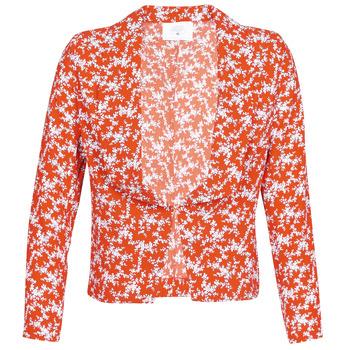 Odjeća Žene  Jakne i sakoi Le Temps des Cerises KARMA Red