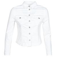 Odjeća Žene  Traper jakne Le Temps des Cerises LILLY Bijela