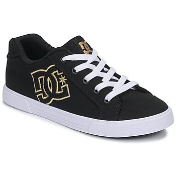 Obuća Žene  Niske tenisice DC Shoes CHELSEA TX Crna / Gold