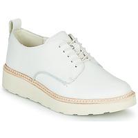 Obuća Žene  Derby cipele Clarks TRACE WALK Bijela
