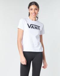 Odjeća Žene  Majice dugih rukava Vans FLYING V CREW TEE Bijela