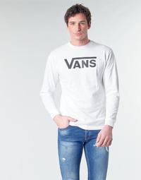 Odjeća Muškarci  Majice dugih rukava Vans VANS CLASSIC Bijela