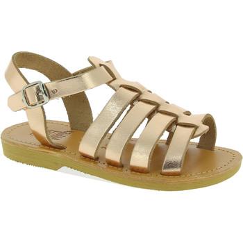 Obuća Djevojčica Sandale i polusandale Attica Sandals PERSEPHONE CALF GOLD-PINK oro