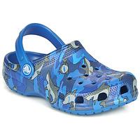 Obuća Dječak  Klompe Crocs CLASSIC SHARK CLOG Plava