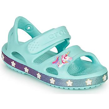 Obuća Djevojčica Sandale i polusandale Crocs FUNLAB UNICORN SANDAL Plava