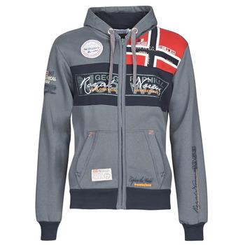 Odjeća Muškarci  Sportske majice Geographical Norway FLYER Siva / Zagasita