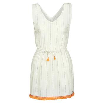 Odjeća Žene  Kratke haljine Banana Moon MARZUL MANDALO Bijela / Narančasta