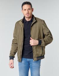 Odjeća Muškarci  Kratke jakne Geox TEVERE BOMBER Zelena / Brončana