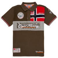 Odjeća Dječak  Polo majice kratkih rukava Geographical Norway KIDNEY Kaki