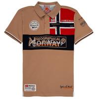Odjeća Dječak  Polo majice kratkih rukava Geographical Norway KIDNEY Bež