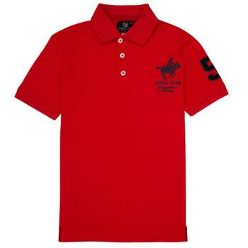 Odjeća Dječak  Polo majice kratkih rukava Geographical Norway KAMPAI Red