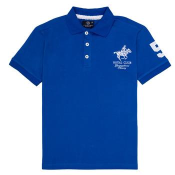 Odjeća Dječak  Polo majice kratkih rukava Geographical Norway KAMPAI Blue