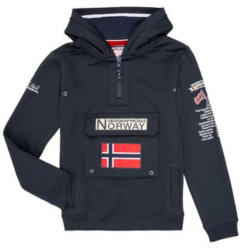 Odjeća Dječak  Sportske majice Geographical Norway GYMCLASS Blue