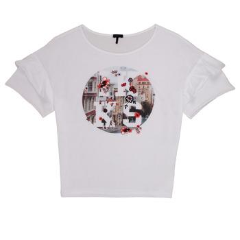 Odjeća Djevojčica Majice kratkih rukava Ikks DIBILIOU Bijela