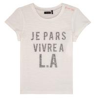 Odjeća Djevojčica Majice kratkih rukava Ikks DARRIAL Bijela