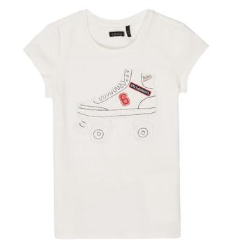 Odjeća Djevojčica Majice kratkih rukava Ikks NADANA Bijela