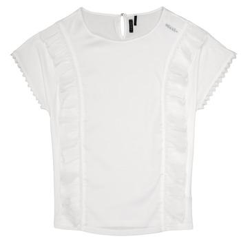 Odjeća Djevojčica Topovi i bluze Ikks CHLOE Bijela