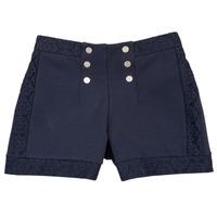 Odjeća Djevojčica Bermude i kratke hlače Ikks SOLISSO Blue