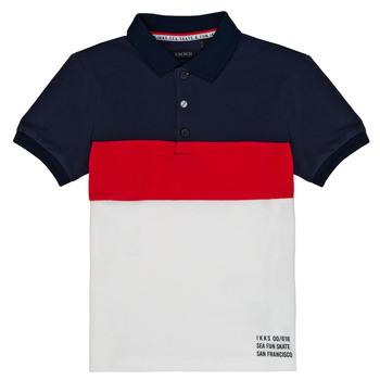 Odjeća Dječak  Polo majice kratkih rukava Ikks LORIE Bijela