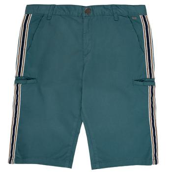Odjeća Dječak  Bermude i kratke hlače Ikks MANUEL Blue / Zelena